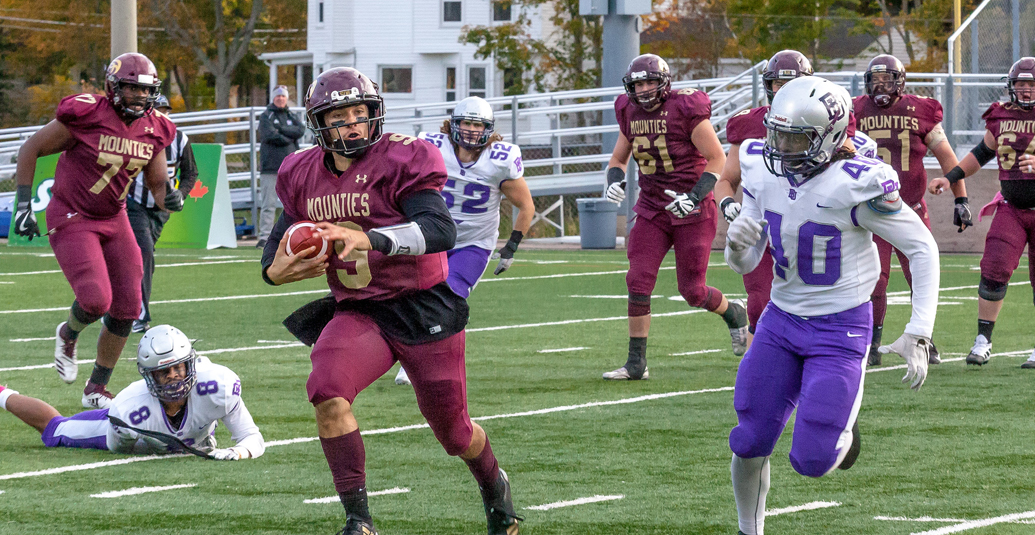 Mounties win third straight with 35-13 win over Bishop's