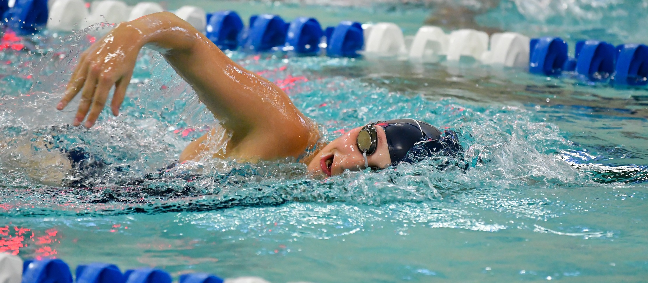 Swimming and Diving Finishes Third Overall at MHC Invitational
