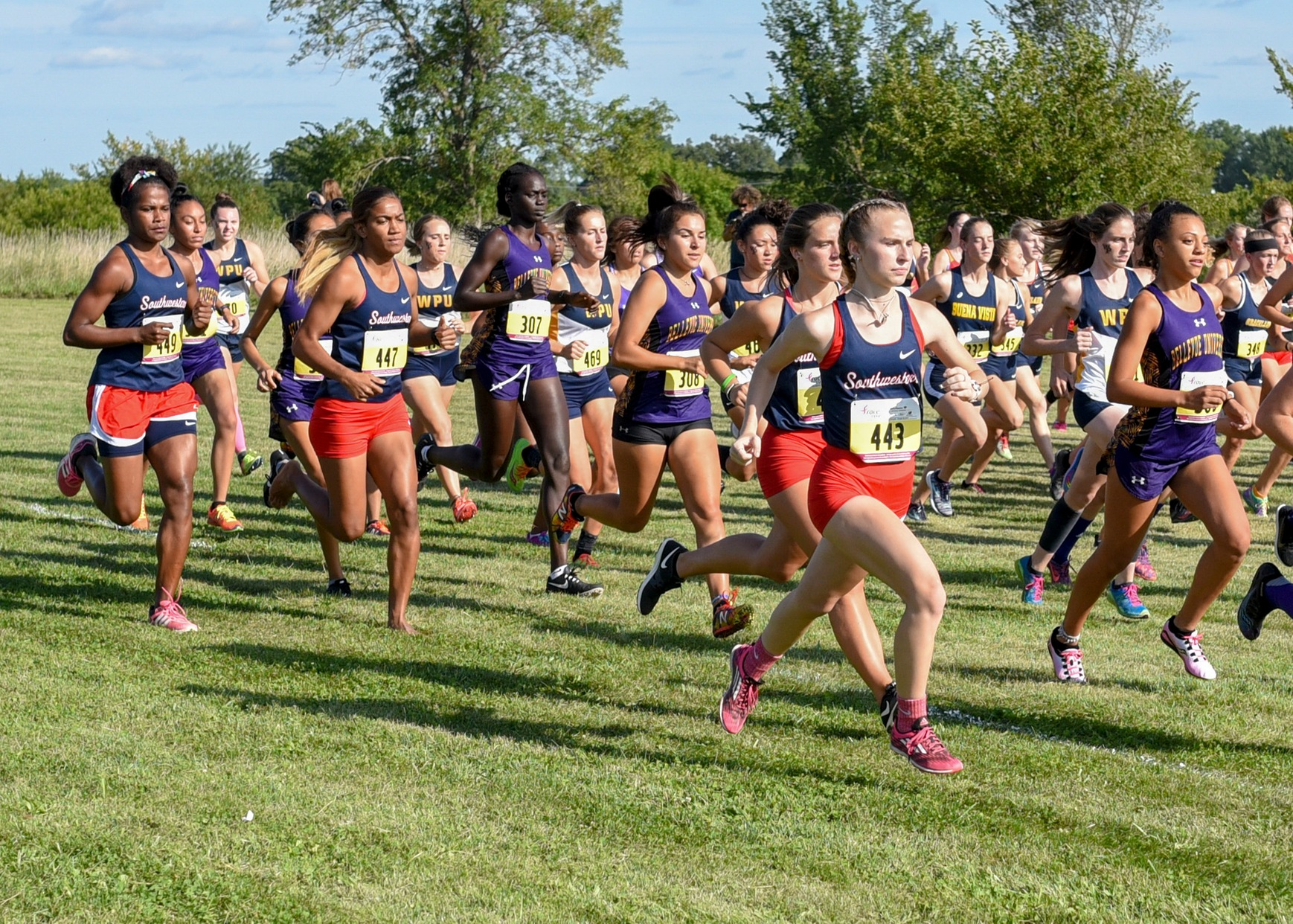 SWCC women's cross country at Bill Buxton Invitational
