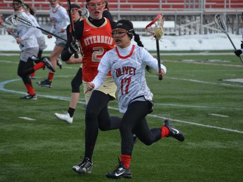 Women's lacrosse team loses to Otterbein, 16-2