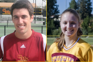 MacColl and Palmer Named SCIAC Athletes Of The Week
