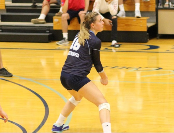 Westminster Volleyball Wins Eighth Consecutive Match in Eureka Sweep