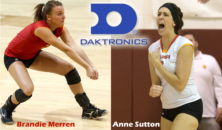 Sutton, Merren Chosen To Daktronics All-Region First Team