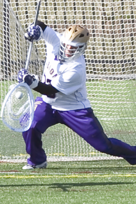 Trevor McManus, Albion, Men's Lacrosse Defensive Player of the Week 4/17/17