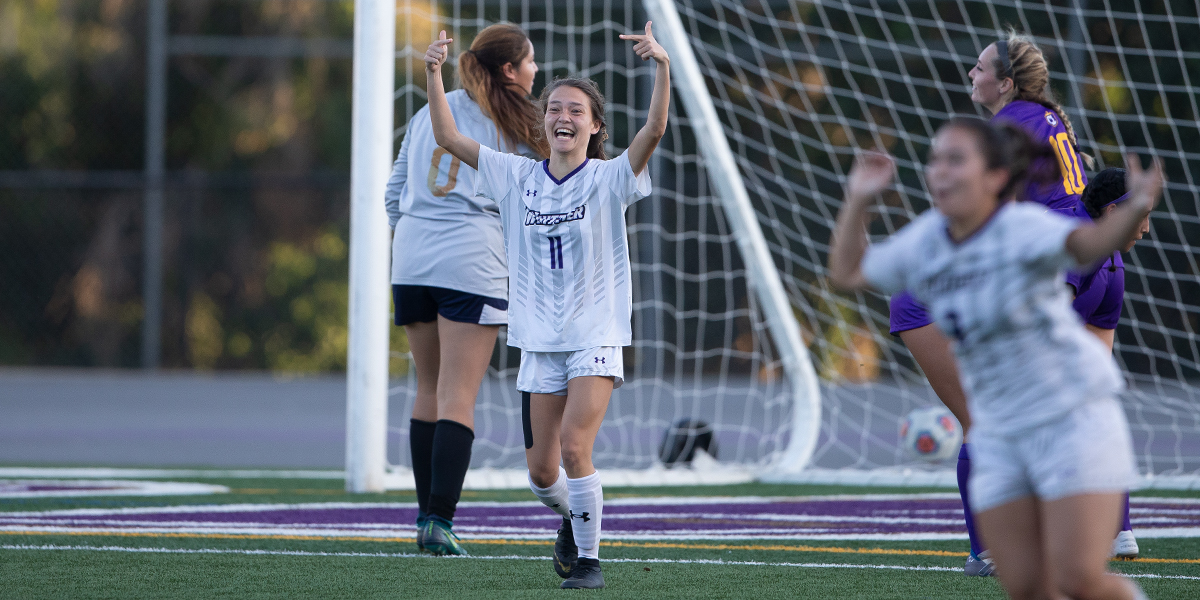Women's Soccer puts up three goals in win over Caltech