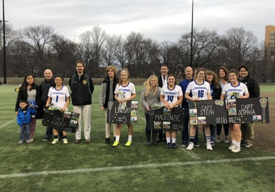 WOMEN'S LACROSSE WINS ON SENIOR DAY SEASON-FINALE, 11-10