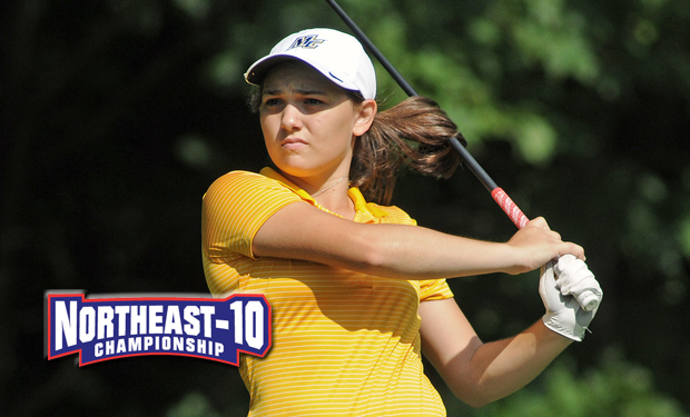 Merrimack Leads after First Day of NE-10 Women's Golf Championship