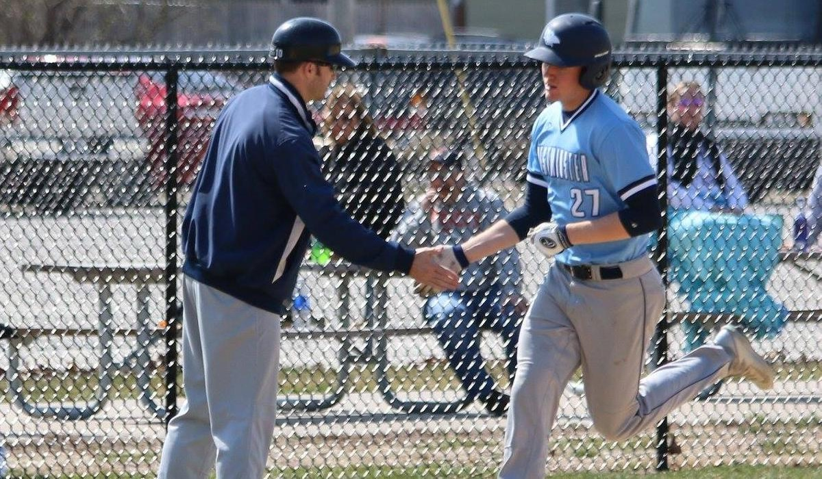 Walk Off Highlights Westminster Baseball Double-Header Sweep