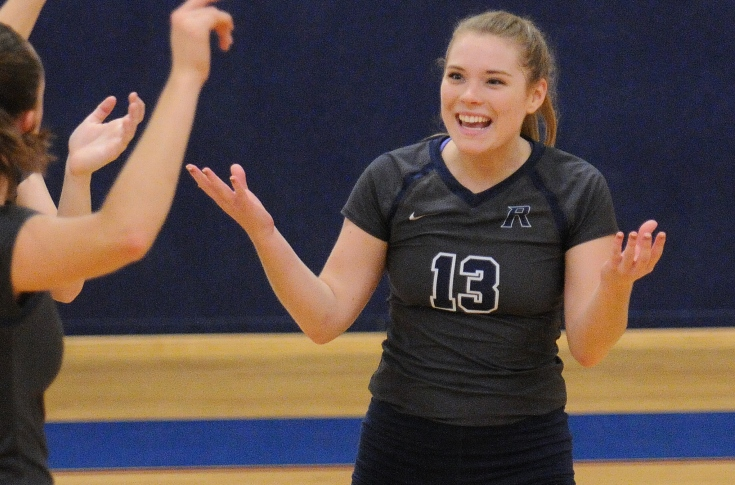 Women's Volleyball: Raiders finish 3-1 at Granite State Invitational