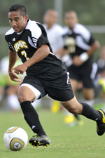 Nirav Kadam assisted on both UMBC goals in the win over La Salle