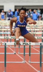 Nwaba Competes Unattached in Heptathlon, Wins Claremont Classic