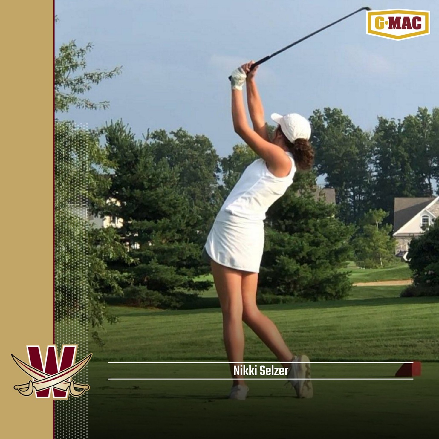 Women's Golf Signs Nikki Selzer for 2019-20