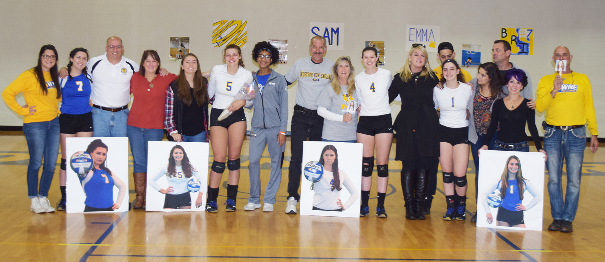 Golden Bears Celebrate Senior Day With 3-0 Wins over Curry & Keene State