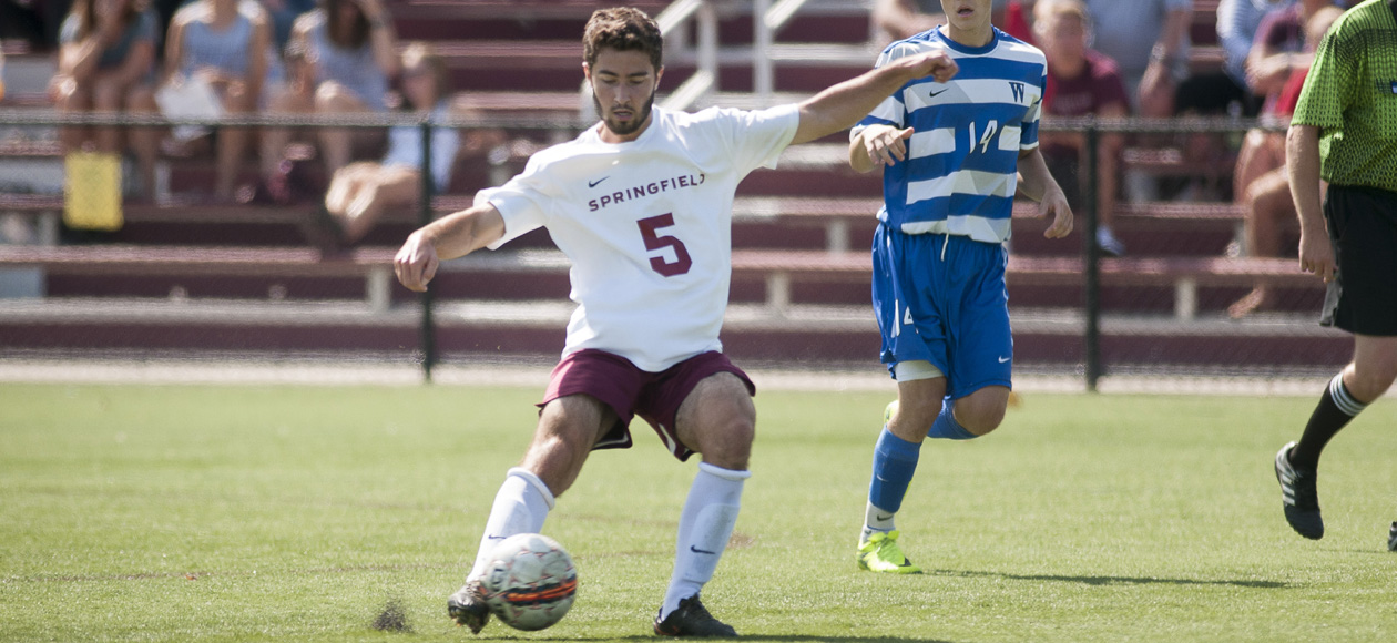 Men's Soccer Runs Past Southern Vermont, 4-0