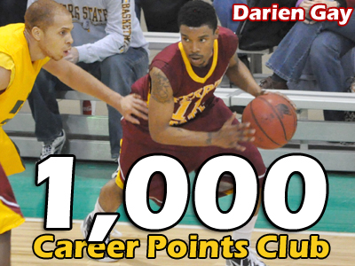 Darien Gay Joins Exclusive 1,000 Points Club