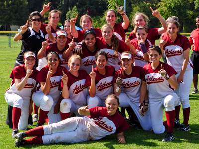 Athenas Clinch SCIAC Regular Season Title, Will Host SCIAC Tournament on Friday.