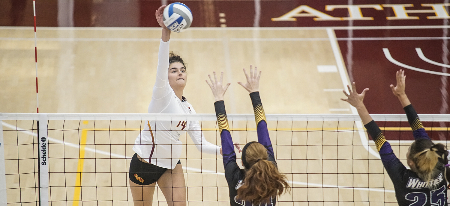 Margot Mafra Spencer finished with 11 kills and 12 digs on Saturday.