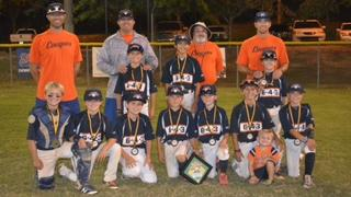 6-4-3 DP Baseball's 10U Cougars win Training Legends October Best tourney
