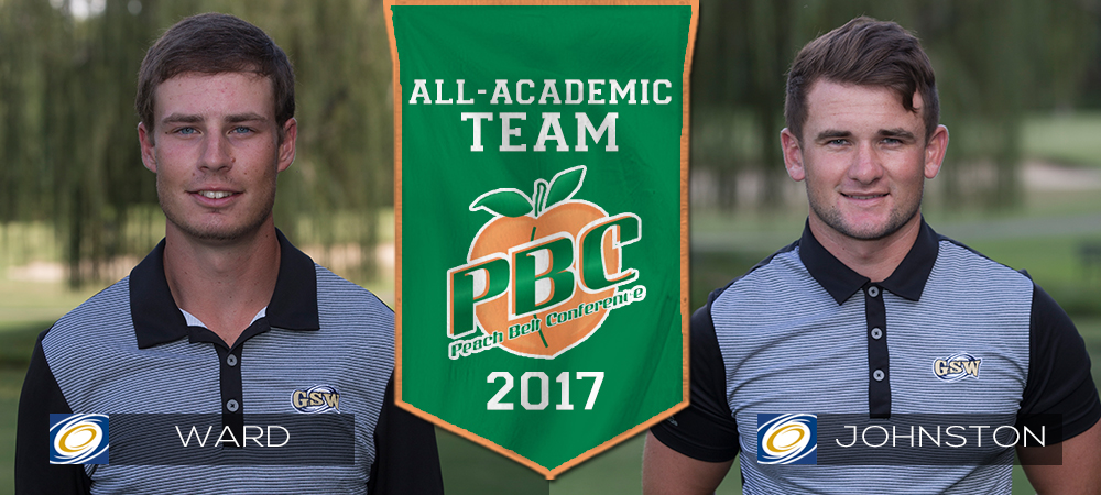 Ward And Johnston Named To PBC All-Academic Golf Team