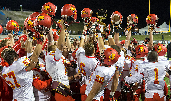 Ferris State Beats GVSU For First Time Since 1999 To Win Anchor-Bone Trophy