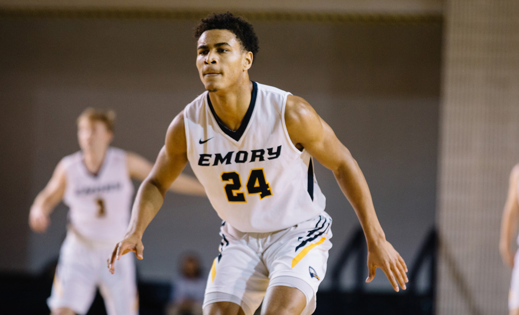 Emory Men's Basketball Races By Carnegie Mellon