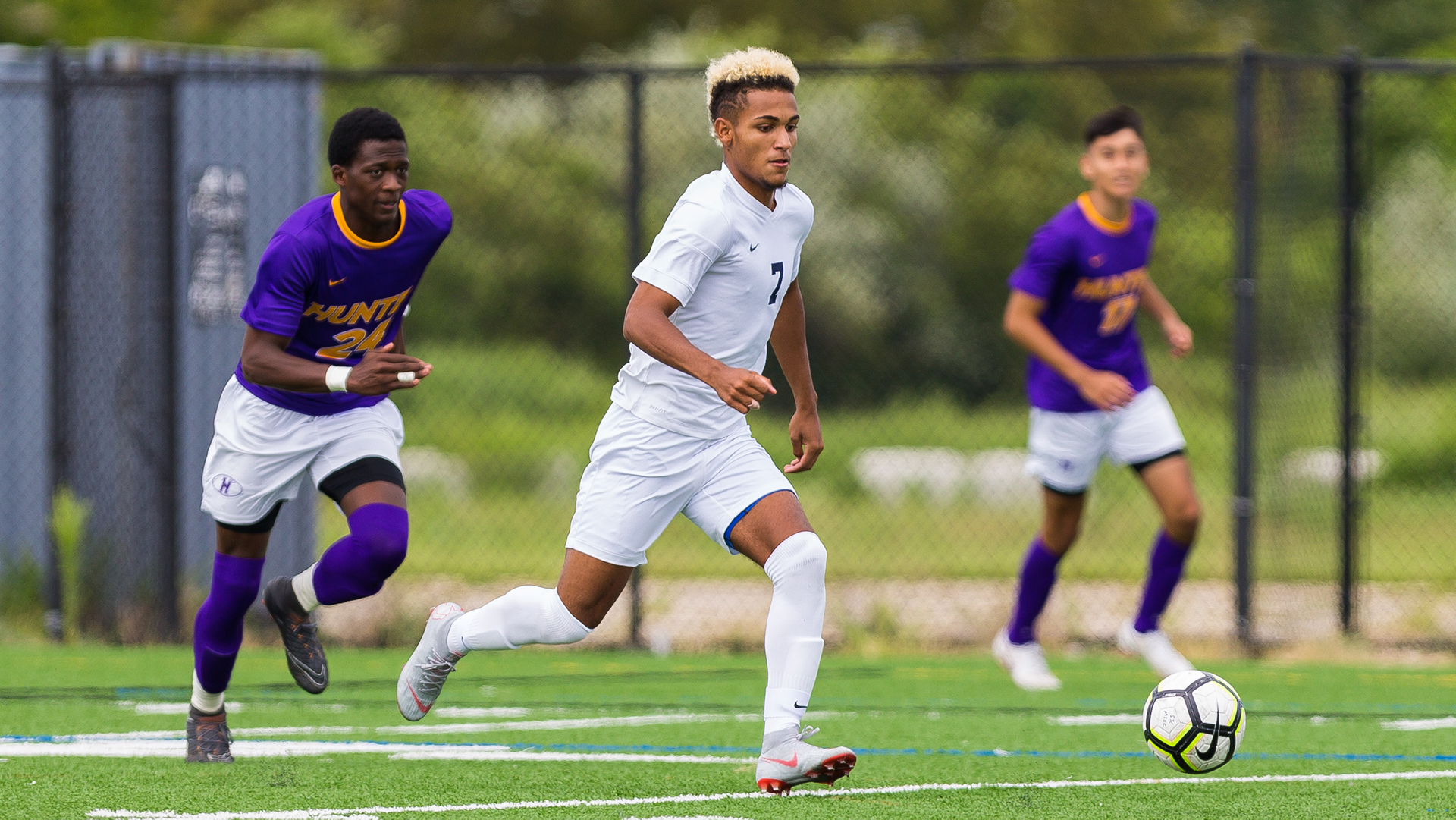 Baruch Narrowly Edges Men's Soccer in Hard-Fought Battle