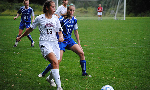 Women's soccer upended 5-0 by Colby - University of Maine at