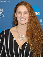 Women's Athlete of the Week - Stephanie Cushman, Drew
