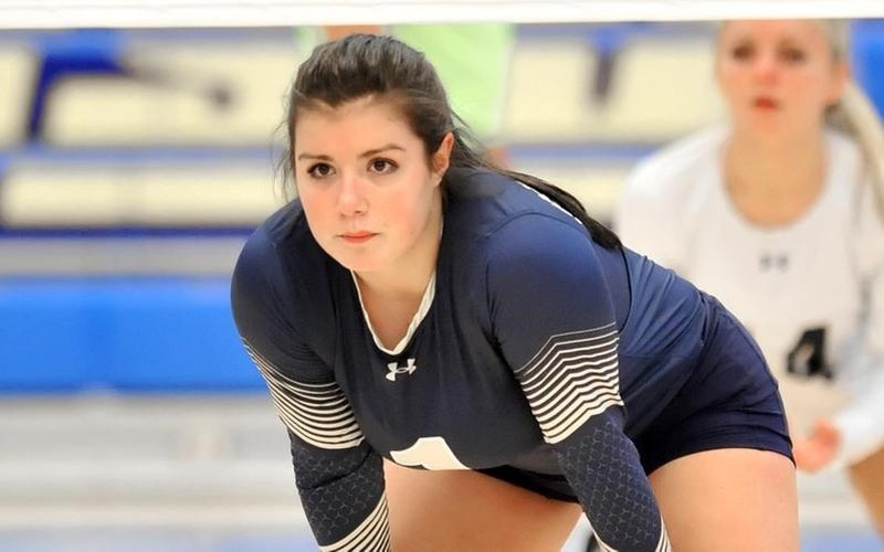 Harrison Registers 12 Kills, 22 Digs As Volleyball Drops Tri-Match Decision To Rhode Island College, Wentworth