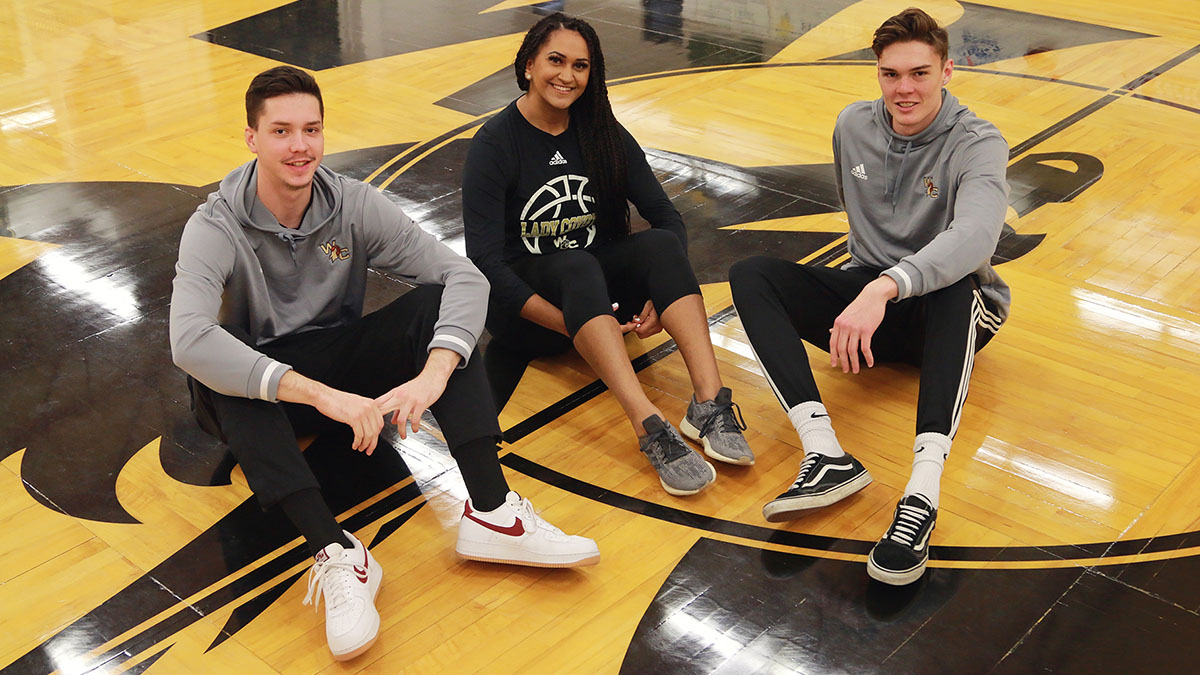 Fate unites three Brisbane athletes on Coyote basketball teams