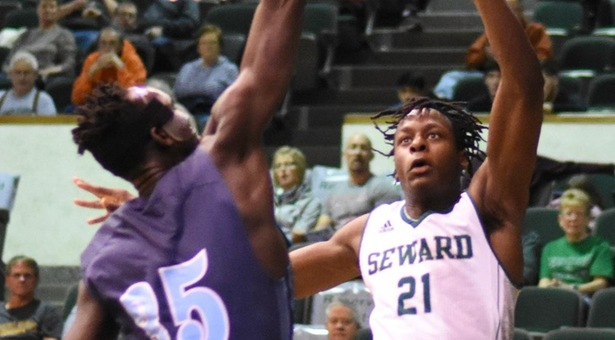 Saints oust Cougars to earn share of Jayhawk West title