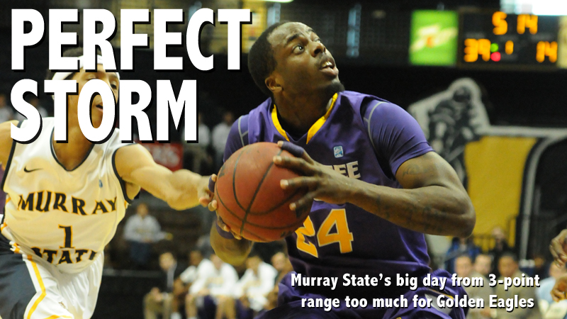 Murray State's big day from 3-point range too much for Golden Eagles