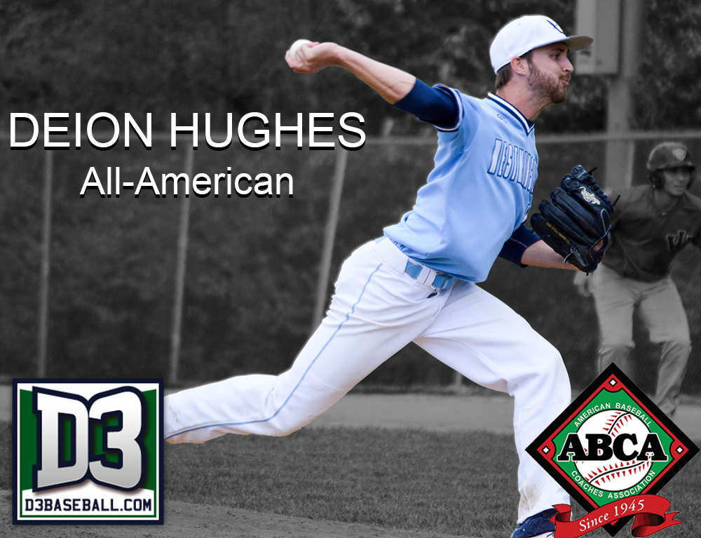 Hughes Named to ABCA and D3Baseball.com All-America Teams