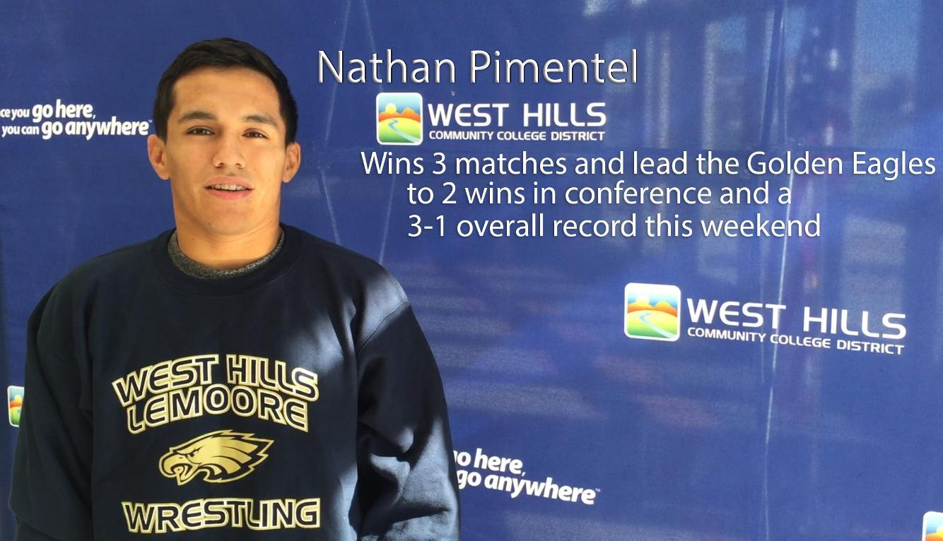 Pimentel leads Eagles to first wins of 2015