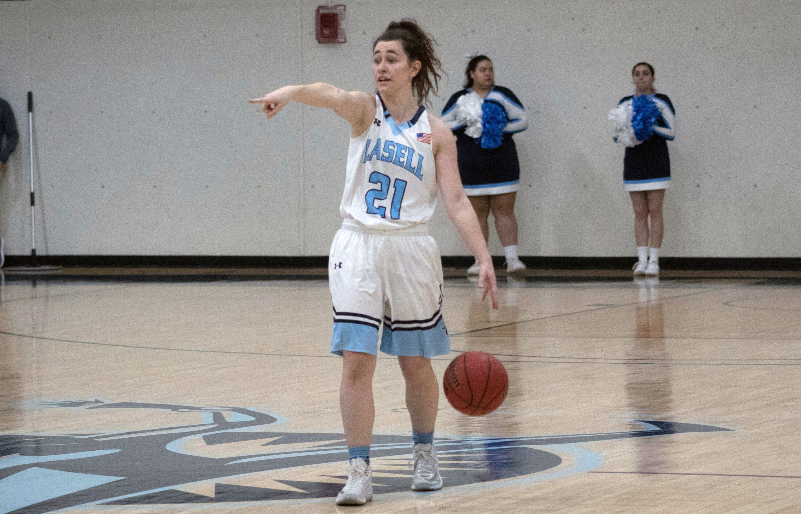 Lasell Women's Basketball defeated by Emerson