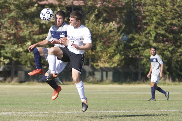 Caltech Goes to Napa, Converts Season's First Goal