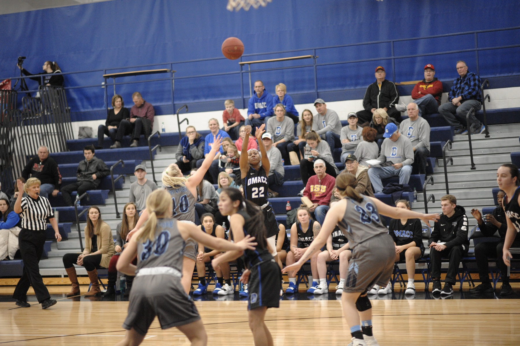 DMACC women's basketball team falls to KCC, 66-37