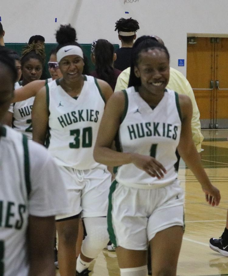 Huskies all smiles after win