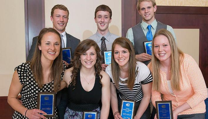 Blugolds Honored at 1st Annual Senior Banquet