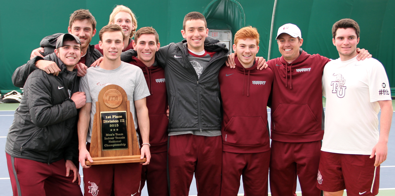 Trinity Men's Tennis Wins ITA Indoor National Championship