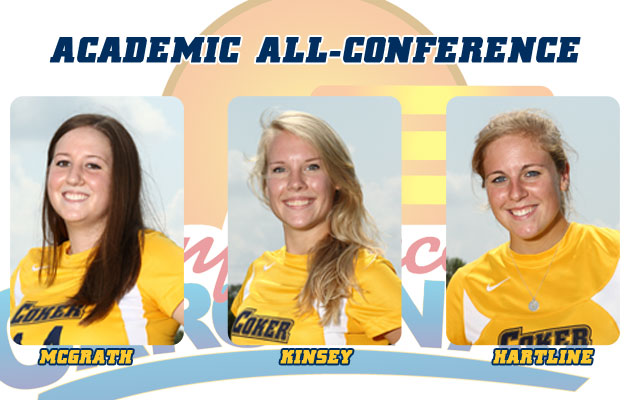 Coker Women's Soccer Trio Earns All-Conference Academic Honors