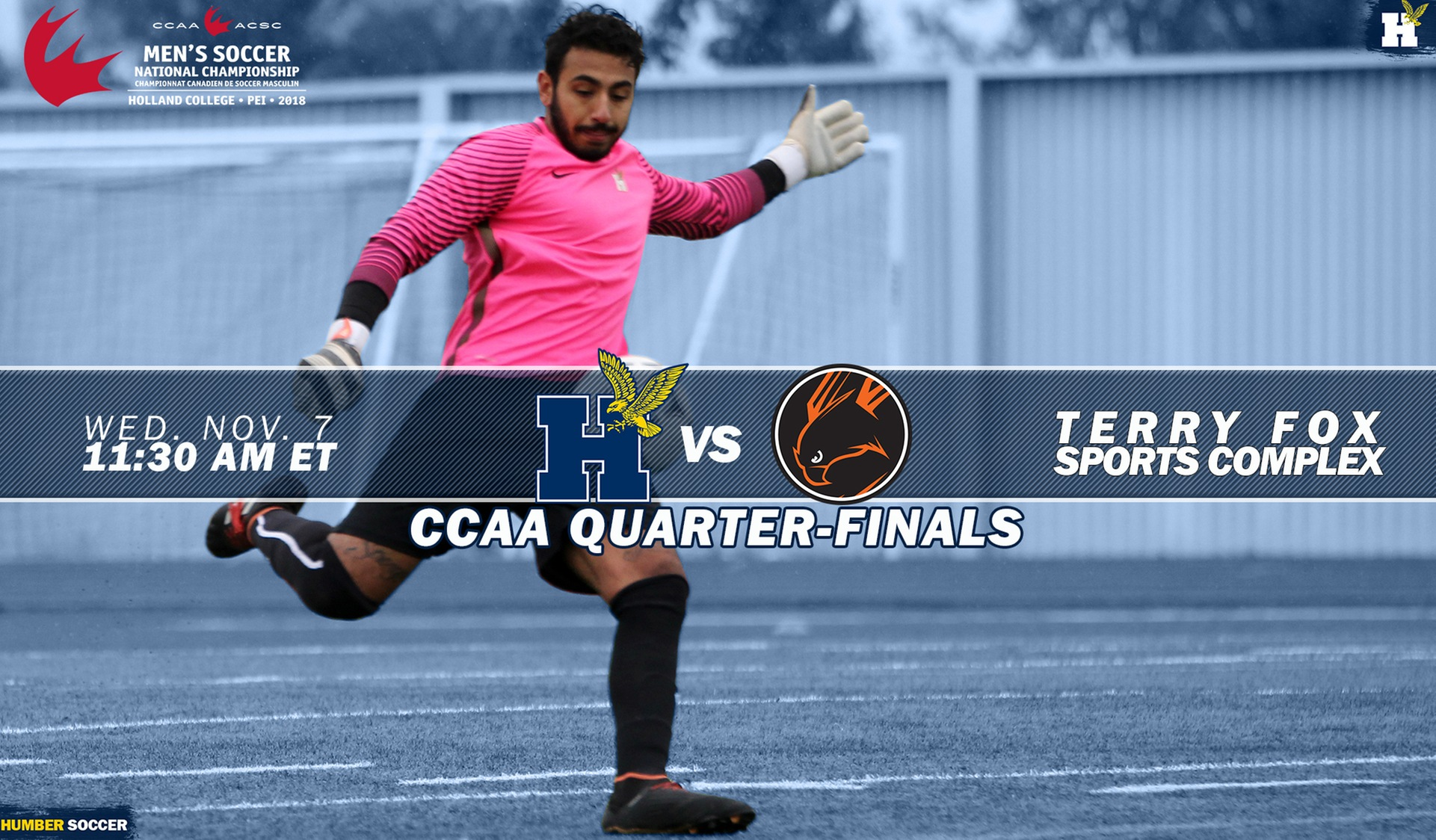 MEN'S SOCCER HEADING TO PEI IN SEARCH OF SEVENTH NATIONAL TITLE