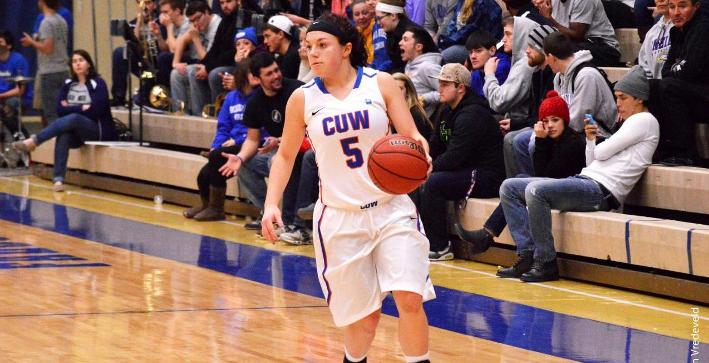 Landgraf has career game, Women's Basketball blows by Aurora