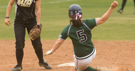 Softball Drops Pair to UNC Pembroke, 3-1 and 10-2