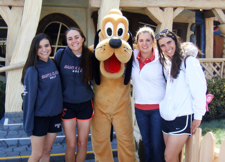 An Inside Look at SCU Women's Golf: Videos/Blogs from the Players Perspective
