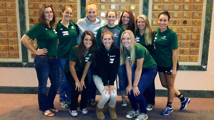 ROWING DONATES TIME TO SHRINERS HOSPITAL FOR CHILDREN