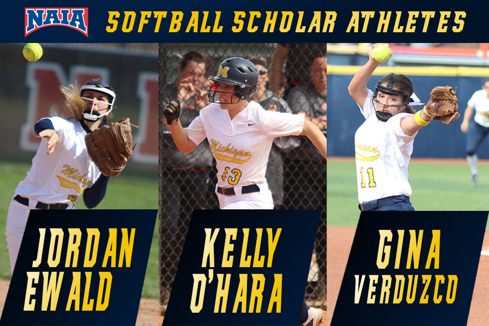 Photo for Ewald, O'Hara, Verduzco named NAIA Scholar Athetes