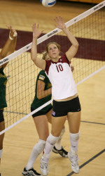 Santa Clara Volleyball Serves Up 3-1 Victory Over Portland In WCC Action