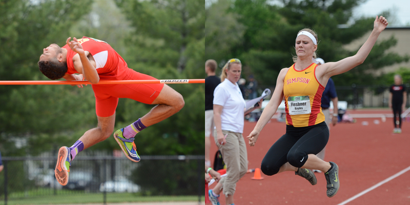 Fleshner, Frazier, Kalinay come up big on second day of IIAC Championships