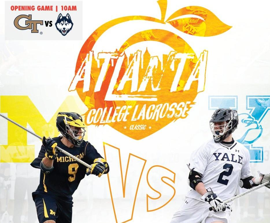 UConn and Georgia Tech Faceoff before Michigan Vs Yale Contest March 10th in Atlanta